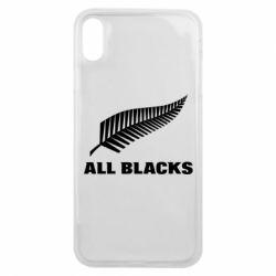 Чехол для iPhone Xs Max All Blacks