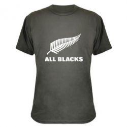Камуфляжная футболка All Blacks