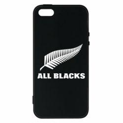Чехол для iPhone5/5S/SE All Blacks
