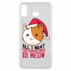 Чехол для Samsung A6s All i want for christmas is meow