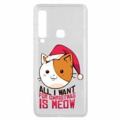 Чехол для Samsung A9 2018 All i want for christmas is meow