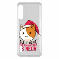 Чохол для Xiaomi Mi A3 All i want for christmas is meow