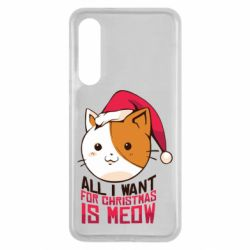 Чехол для Xiaomi Mi9 SE All i want for christmas is meow