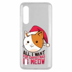Чехол для Xiaomi Mi9 Lite All i want for christmas is meow