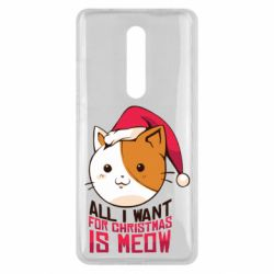 Чехол для Xiaomi Mi9T All i want for christmas is meow