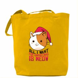 Сумка All i want for christmas is meow