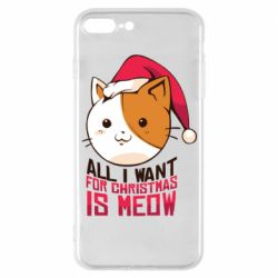 Чехол для iPhone 7 Plus All i want for christmas is meow