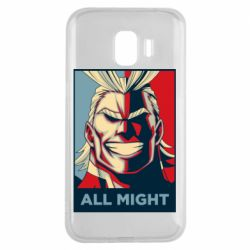 Чехол для Samsung J2 2018 All might