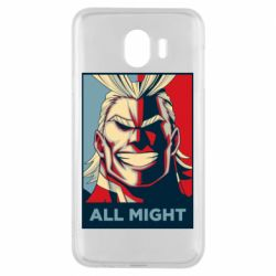 Чехол для Samsung J4 All might