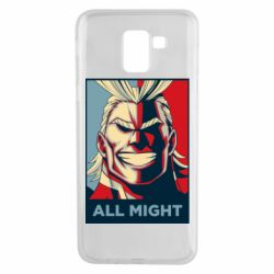 Чехол для Samsung J6 All might