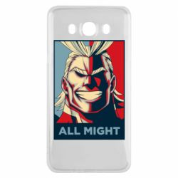 Чехол для Samsung J7 2016 All might