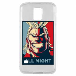 Чехол для Samsung S5 All might