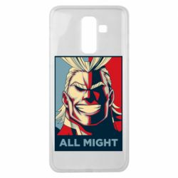 Чехол для Samsung J8 2018 All might
