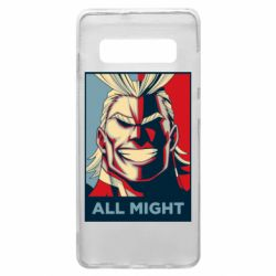 Чехол для Samsung S10+ All might
