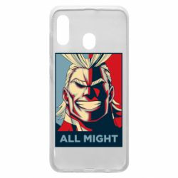 Чехол для Samsung A20 All might