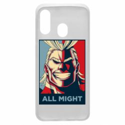 Чехол для Samsung A40 All might