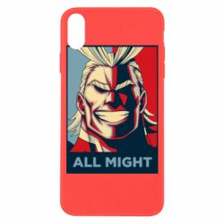Чехол для iPhone X/Xs All might