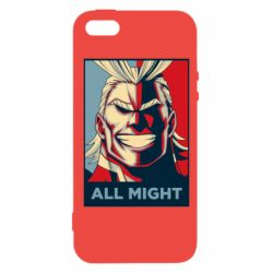 Чехол для iPhone5/5S/SE All might