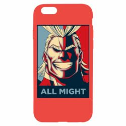 Чехол для iPhone 6/6S All might