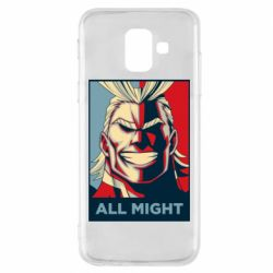 Чехол для Samsung A6 2018 All might