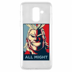 Чехол для Samsung A6+ 2018 All might