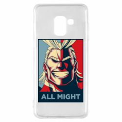 Чехол для Samsung A8 2018 All might