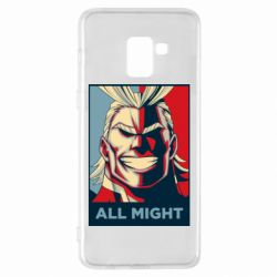 Чехол для Samsung A8+ 2018 All might