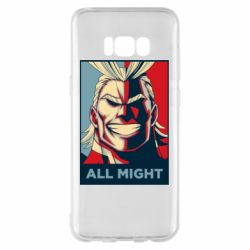 Чехол для Samsung S8+ All might