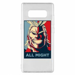 Чехол для Samsung Note 8 All might