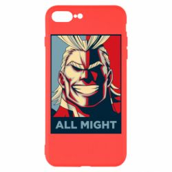 Чехол для iPhone 8 Plus All might