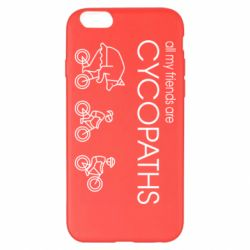 Чохол для iPhone 6 Plus/6S Plus All my friends are cycopaths