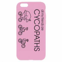 Чохол для iPhone 6/6S All my friends are cycopaths