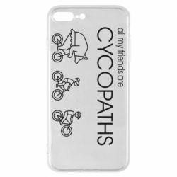 Чохол для iPhone 8 Plus All my friends are cycopaths