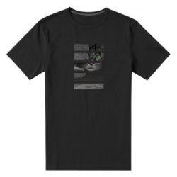 Мужская стрейчевая футболка All seeing cat