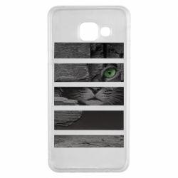 Чехол для Samsung A3 2016 All seeing cat