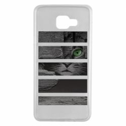 Чехол для Samsung A7 2016 All seeing cat