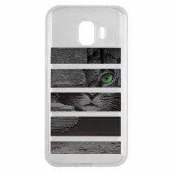 Чехол для Samsung J2 2018 All seeing cat
