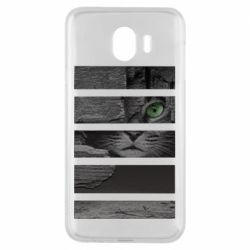Чехол для Samsung J4 All seeing cat