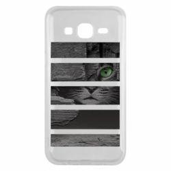 Чехол для Samsung J5 2015 All seeing cat