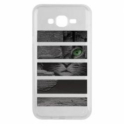 Чехол для Samsung J7 2015 All seeing cat