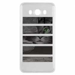 Чехол для Samsung J7 2016 All seeing cat