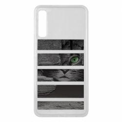 Чехол для Samsung A7 2018 All seeing cat