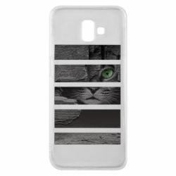 Чехол для Samsung J6 Plus 2018 All seeing cat