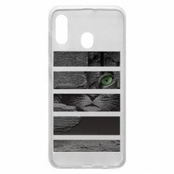 Чехол для Samsung A30 All seeing cat