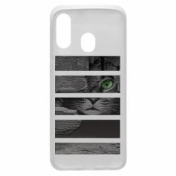 Чехол для Samsung A40 All seeing cat