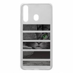 Чехол для Samsung A60 All seeing cat