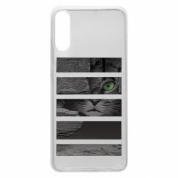 Чехол для Samsung A70 All seeing cat