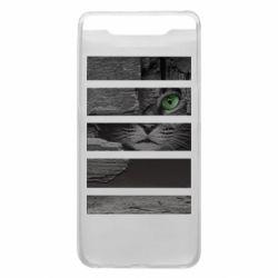 Чехол для Samsung A80 All seeing cat