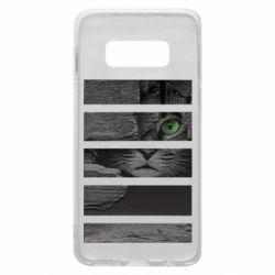 Чехол для Samsung S10e All seeing cat