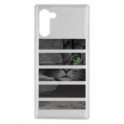 Чехол для Samsung Note 10 All seeing cat